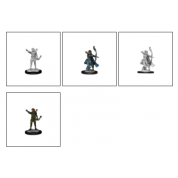 D&D Nolzur's Marvelous Miniatures - Elf Ranger Female (6 Units)