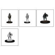 D&D Nolzur's Marvelous Miniatures - Darkling Elder & Darklings (6 Units)
