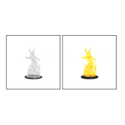 Pathfinder Battles Deep Cuts Unpainted Miniatures - Huge Fire Elemental Lord