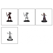 Magic the Gathering Unpainted Miniatures: Vampire Lacerator & Vampire Hexmage (6 Units)