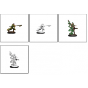 Magic the Gathering Unpainted Miniatures: Joraga Warcaller & Joraga Treespeaker (Elves) (6 Units)