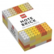 LEGO Note Brick (Yellow-Orange)