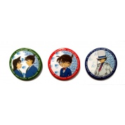 Detektiv Conan Badges 58mm (Set of 3)