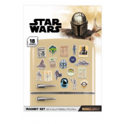 Pyramid Magnet Sets - Star Wars: The Mandalorian (Bounty Hunter)