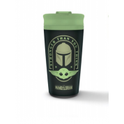 Pyramid Metal Travel Mug - Star Wars: The Mandalorian (Stronger Than You Think)