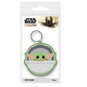 Pyramid Rubber Keychains - Star Wars (The Child)