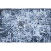 Kraken Wargames Gaming Mat - Winter Warzone City 6x4 Gaming Mat 2.0