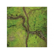 Kraken Wargames Gaming Mat - River Valley 4x4 Gaming Mat 2.0