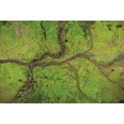 Kraken Wargames Gaming Mat - River Valley 6x4 Gaming Mat 2.0