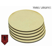 Kraken Wargames - MDF Base round 32mm (40)