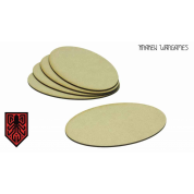 Kraken Wargames - MDF Base Oval 120x92mm (5)