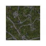 Kraken Wargames Gaming Mat - Ancient Green 4x4 Gaming Mat 2.0