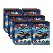 Star Realms Deckbuilding Game - Starter Display (6 Starters) - DE