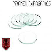 Kraken Wargames - Clear Base round 35x3mm (10)