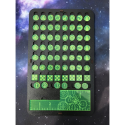 Kraken Wargames - Kill Team Token Board Green