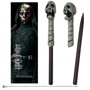 Harry Potter - Death Eater (skull) Wand Pen & Bookmark