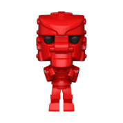 Funko POP! POP Vinyl: Mattel - Rock 'Em Sock 'Em Robot (Red) Vinyl Figure 10cm