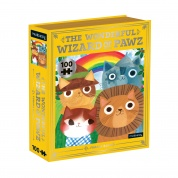 The Wonderful Wizard of Pawz Bookish Cats 100 Piece Puzzle