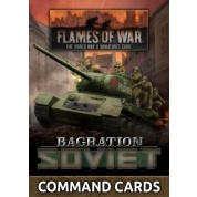 Flames Of War - Bagration: Soviet Command Cards (42x Cards) - EN