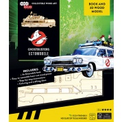 IncrediBuilds: Ghostbusters: Ectomobile Book and 3D Wood Model - EN