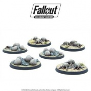 Fallout: Wasteland Warfare - Wasteland Creatures: Mirelurk Hatchlings + Eggs - EN