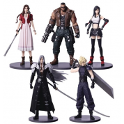 Final Fantasy VII Remake Trading Arts - Set of 5