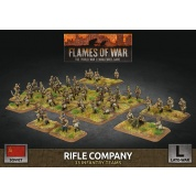 Flames of War: Soviet Rifle Company (x132 Figs Plastic)