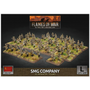 Flames of War: Soviet SMG Company (x98 Figs Plastic)