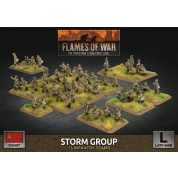 Flames of War: Soviet Storm Group (x50 Figs Plastic)