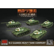 Flames of War - IS-2 Guards Heavy Tank Company (x5 Plastic)