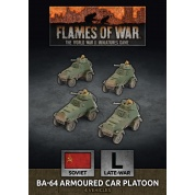 Flames of War - BA-64 Armoured Car Platoon (x4 Plastic)