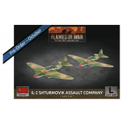 Flames of War - IL-2 Shturmovik Assault Company (x2 Plastic)