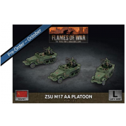 Flames of War - ZSU M17 Anti-Aircraft Platoon (x3 Plastic)