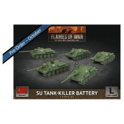 Flames of War - SU Tank-Killer Battery (x5 Plastic)