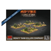 Flames of War - Heavy Tank-Killer Company (x4 Plastic)