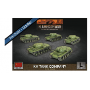 Flames of War - KV-8 Flame-Tank Company (x5 Plastic)