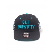 Rick and Morty - Get Schwifty Curved Bill Cap