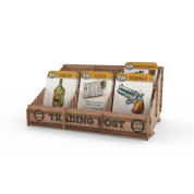 Western Legends Ante Up - Wooden Trading Post