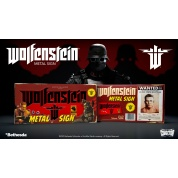 "Wolfenstein ""The New Colossus"" Metal Sign"