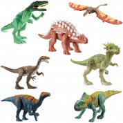 Jurassic World Dino Rivals Attack Pack Sortiment (6)