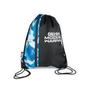 Official COD Modern Warfare Blue Camo Drawstring Bag