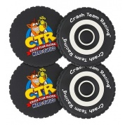 Official Crash Team Racing Nitro-Fueled Tyre Coasters