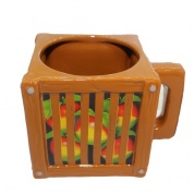 Official Crash Team Racing Nitro-Fueled Wumpa Fruit Crate Mug
