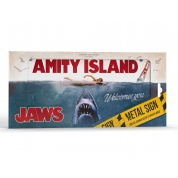Jaws - Metal sign