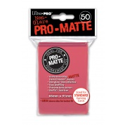 UP - Standard Sleeves - Pro-Matte - Non Glare - Fuchsia (50 Sleeves)