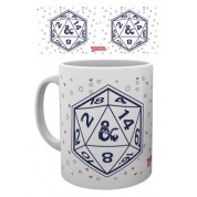 GBeye Mug - Dungeons and Dragons D20