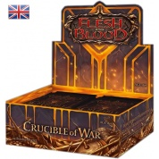 Flesh & Blood TCG - Crucible of War First Edition Booster Display (24 Packs) - EN