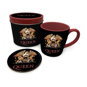 Pyramid Gift Tin - Queen (Colour Crest)