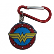 3D Polyresin Keychain - Wonder Woman (Logo)
