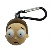 3D Polyresin Keychain - Rick and Morty (Morty)